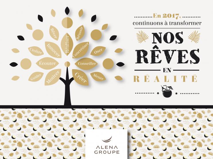 Les vœux Alena Groupe pour 2017