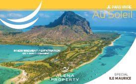 Brochure Alena Property Je pars vivre au soleil, spécial île Maurice