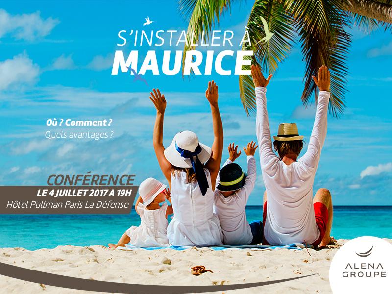 """Conférence """"s'installer à Maurice"""" 4 juillet 2017 - Paris"""