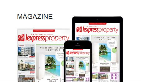 Ouverture de l'agence Welcome Home - l'Express Property avril/mai 2016