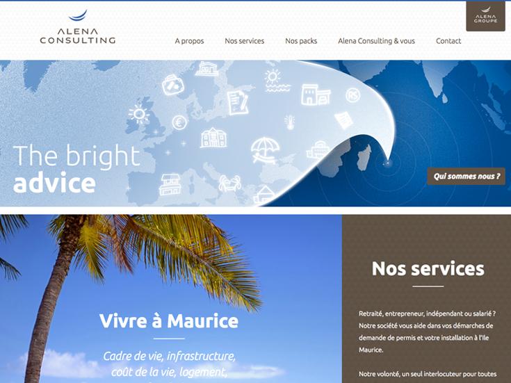 le nouveau site Alena Consulting est en ligne
