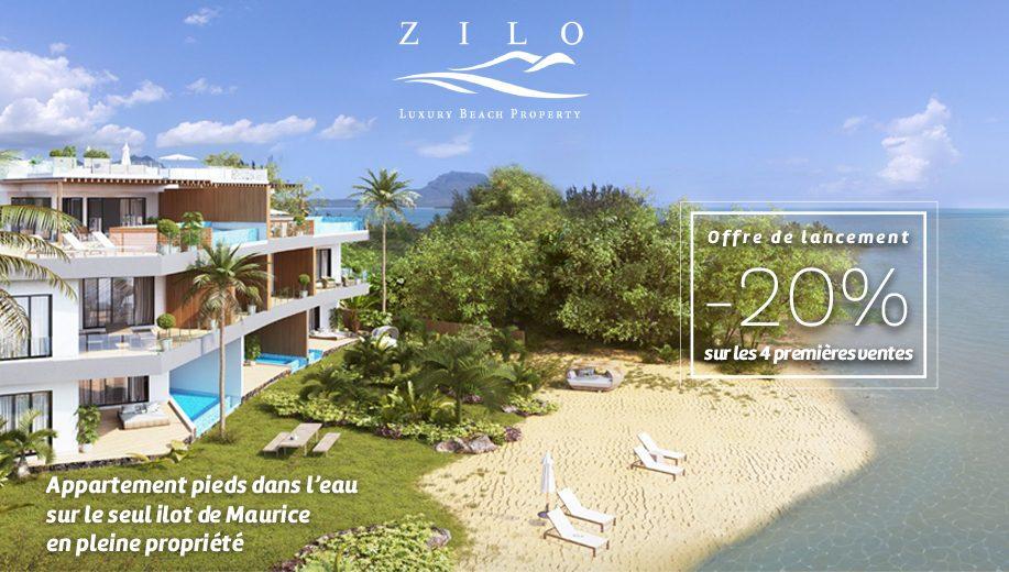 Appartement pieds dans l'eau sur le seul îlot de Maurice - Offre de lancement : -20% sur les 4 premières ventes.
