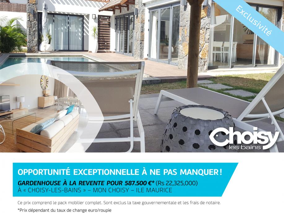 Gardenhouse à la revente à Choisy-Les-Bains